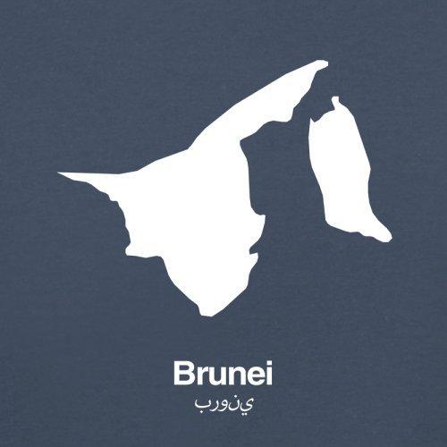 Brunei Silhouette - Herren T-Shirt - 13 Farben Navy