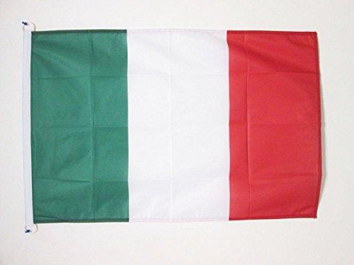 Az bandiera italia 90x60cm per esterno - bandiera italiana 60 x 90 cm