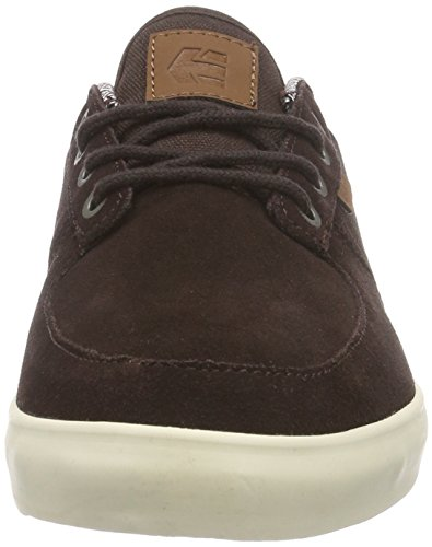 Etnies Hitch, Chaussures de Skateboard homme Marron (dark Brown)