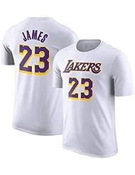 Camiseta De La NBA L.A Lakers James # 23 Jóvenes Hombres Equipo Logotipo Nombre Número Kobe
