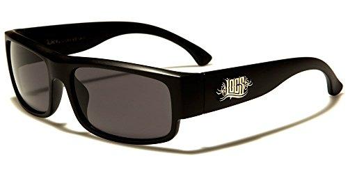 X-CRUZE 2er Pack Choppers 6608 X0 Sonnenbrillen Motorradbrille Sportbrille Radbrille in den Farben schwarz silber und wei/ß anthrazit