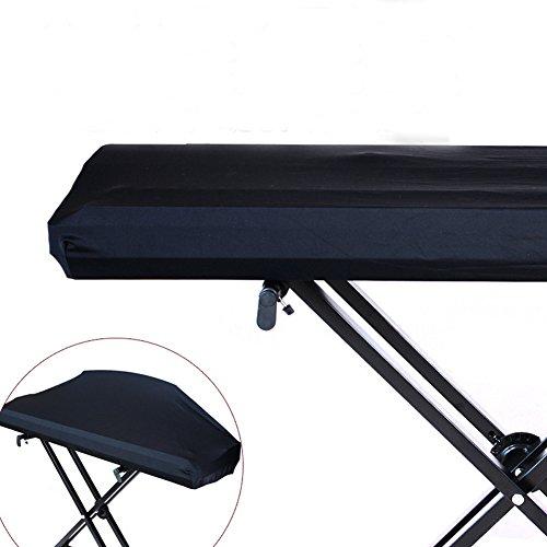 HANSHI Elektronische Klaviertastatur Staubschutz Verstellbar mit elastischem Band Staubdicht Schutz für Piano Keyboard von 61/73/76/88 Tasten HCZ14-C