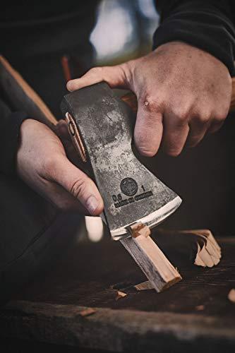 Hultafors Beil AGELSJÖN Jagd- / Outdoormesser, Grau - 6