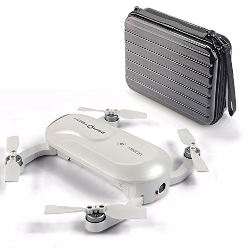 Preisvergleich Produktbild ZEROTECH Dobby Pocket Selfie Pocket Drone FPV With 4K HD Camera GPS Smart Solution RC Quadcopter with Hard Waterproof Carry Bag