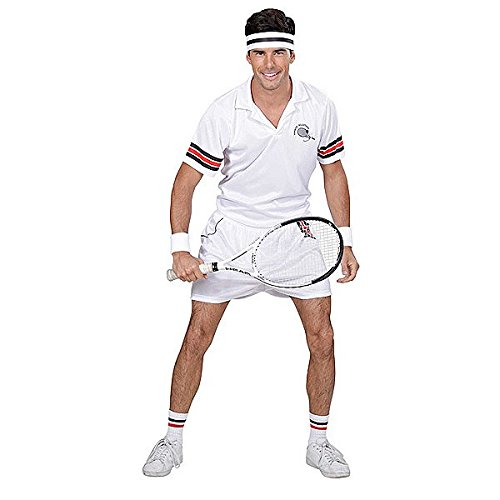 Tennis Player Costume Medium for Sport Fancy Dress Up (Dress Outfits Up)