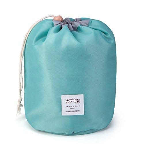 Rusty Bob - Kosmetiktasche für Reisen | Große Kulturtasche | Kulturbeutel | Waschbeutel | Kulturtasche Bad-Tasche | Damen und Herren (Light Blue)