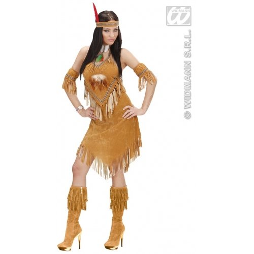 Widmann wid02162-Kostüm für Erwachsene Indiana WEEKO, mehrfarbig, M