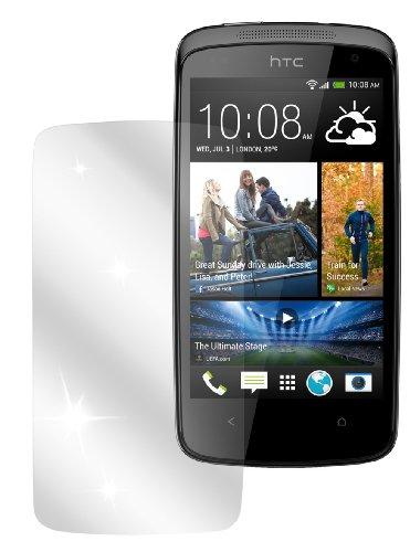 dipos I 2X Schutzfolie klar passend für HTC Desire 500 Folie Bildschirmschutzfolie
