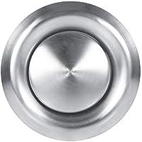 Rejilla de ventilación redonda de acero inoxidable, cubierta de ventilación de ventilación, para el