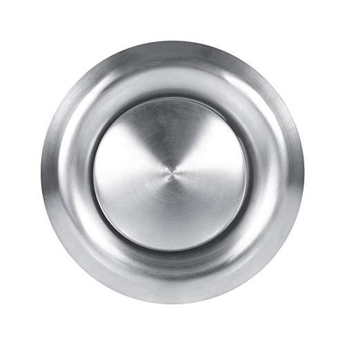 Round Air Vent, Belüftungs Kanal Ventilator Luft Entlüftungs Decken Angebrachter runder Luft Ventil Entlüftungs Grill(100mm) - - Entlüftungs-ventilator