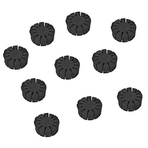 MagiDeal 10 Stück EVA Schaum 12 Pfeile Halter Pfeile Ständer Set Bogenschießen Zubehör - Halter Pfeil