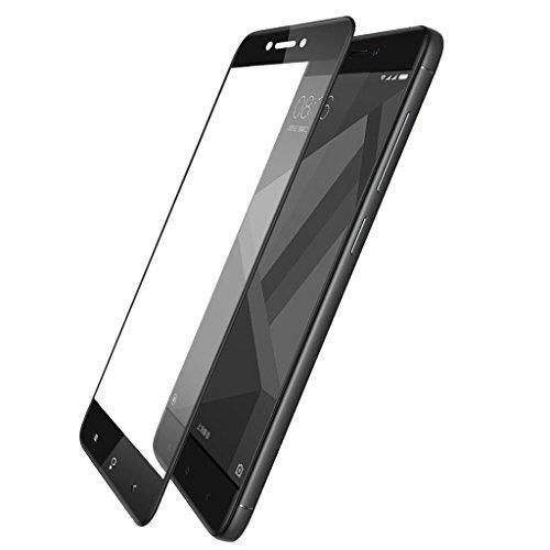 Xiaomi Mi Redmi 4 tempered glass , mi redmi 4 tempered..,, RIdhaniyaa 3D EDGE TO EDGE TEMPERED GLASS SCREEN TEMPERED For XIAOMI MI REDMI 4 / mi4 / MI4 / REDMI4. (BLKTEMPD)