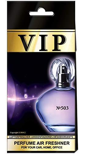5x caribi VIP Auto, Zuhause oder Büro Lufterfrischer mit Parfume Duft von & # x2116; 503-Dior