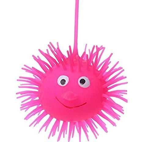 MwaaZ Produkte mit hoher Qualität Pack von 12 Stück Lovely Mini Smiley Puffer Ball Decompression Spielzeug