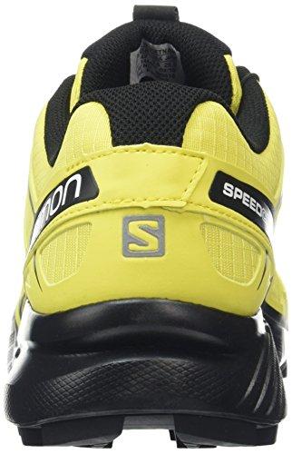 Salomon Herren Speedcross 4 Traillaufschuhe, Gelb (Corono Yellow/Black), 44 EU