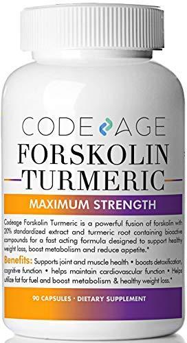 Code Age Fettverbrennung Kraft Forskolin Gewichtsverlust Formel - Diät-Pillen oder Fett und Bauch brennen Packung von 90