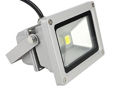 2x Shinntto 10W LED Fluter Außen Strahler Scheinwerfer Flutlicht Wandstrahler Licht Objektbeleuchtung SMD IP65 Warmweiß 3000K 230V 1000 Lumen Wasserdicht Alu Gehäuse