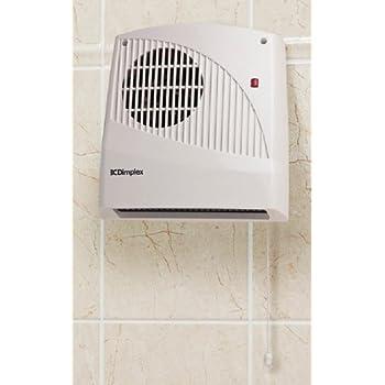 Dimplex Fx20v Wall Mounted Fan Heater 2kw Amazon Co Uk
