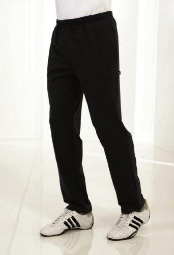 Trainingshose Jogginghose für Herren Lycra schwarz von hajo Größe: 56