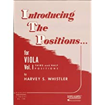 Introducing the Positions for Viola: Volume 1 - Third and Half Positions (Rubank Educational Library)