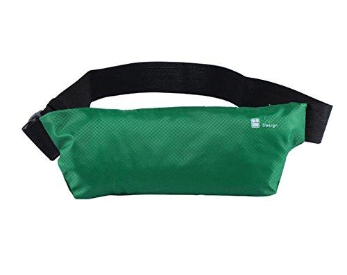 LAAT Outdoor Sports Waist Packs Unsichtbare Anti Diebstahl Taschen Ultra Slim Fitness Gürtel Laufen Handy taschen Radfahren Wandern Wandern 25.5 * 9CM Rote
