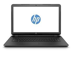 HP 17-p105ng (L2T07EA) 43,9 cm (17,3 Zoll) Notebook (AMD A6-Serie APU, 1,8 GHz, 4GB RAM, 1000GB HDD, AMD Radeon (TM) R4-Grafikkarte, FreeDOS 2.0) schwarz