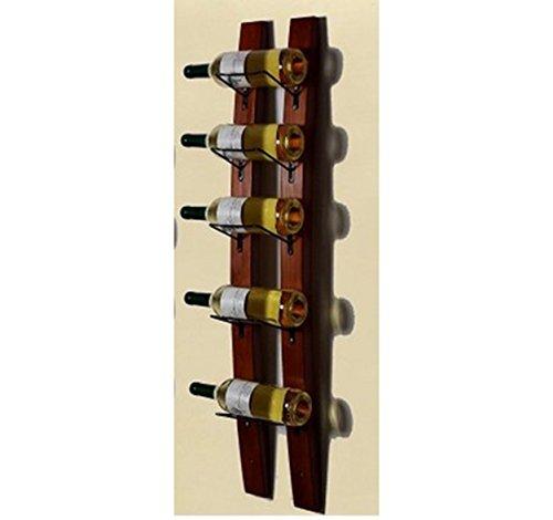 IVHJLP Wein-Gestell Aus Massivem Holz Für Die Wandmontage Von Küchengeräten Für Familienhotel-Weinregal