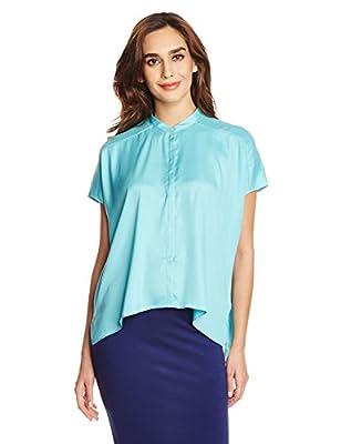 Mysterious Miss Women's Button Down Shirt