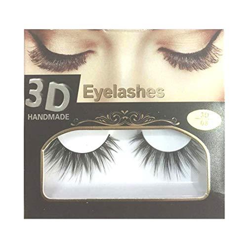 BELLA HARARO 3D Mink Handmade Eyelashes for Women (1 Pair)