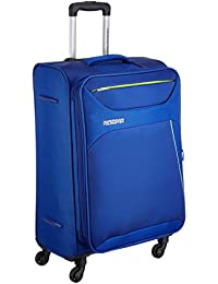 American Tourister Z-Strike Polyester 79 cms Royal Blue Softsided Check-in Luggage (AMT Z-Strike SP79CM Royal BLU)
