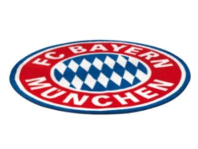 FC Bayern Fan Teppich Logo OVP Fußball FCB (Fußball Teppiche)
