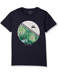 Quiksilver EQBZT03356-GND0_XS/8, Camiseta Para Niños, Negro, M