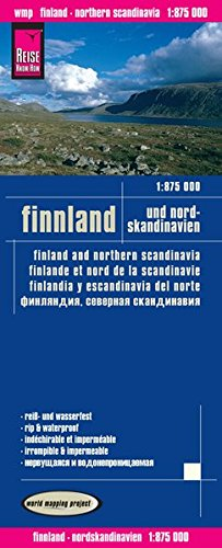 Reise Know-How Landkarte Finnland und Nordskandinavien (1:875.000): world mapping project: Alle Infos bei Amazon