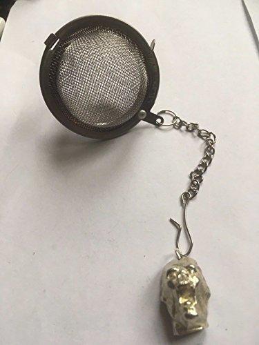 Alien-Kopf tg310a Tee-Ei, Edelstahl, Sieb, 1,5x 2cm, von US Gifts for all, aus Derbyshire UK