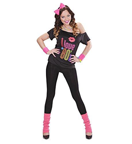 T-SHIRT - 80er JAHRE GIRL - Größe 42/44 (80er Kostüme Girl Jahre)