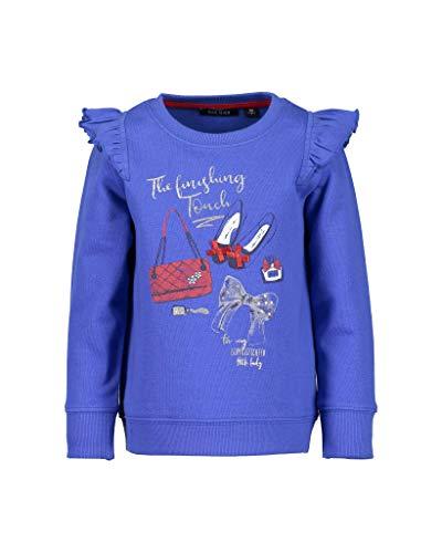 BLUE SEVEN Blue Seven Mädchen Sweatshirt Vd-764548 X Blau (Ocean 534) 92