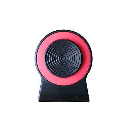HuhuswwBin Game Joystick,Phone Gamepad,Controller di Gioco con Clip Rocker Smartphone Joypad Joystick con Manico Red Anti-Slip