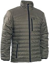 Deerhunter verdun veste avec doublure spéciale en thinsulate, 323 dusty green olive