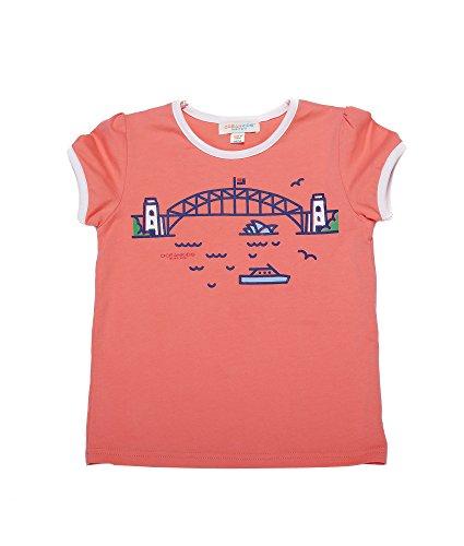 Oceankids Jungen Grafik Shirt Baumwoll Kinder T-Shirt mit Cartoon Printing Rot 6T 5-6 Jahre (Shirt End Lands Jungen)