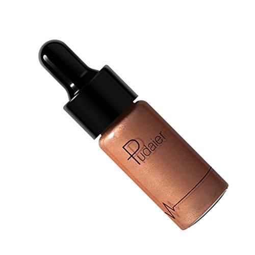 Sharplace Surligneur Correcteur de Teint Liquide et Crémeux pour Réduire l'Obscurité de la Peau et Rendre la Peau plus Uniforme et Lisse Naturel - 04# BOUGIE