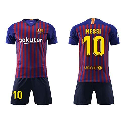 FRHLH Barcelona Messi # 10 Jungen Sportswear Herrengröße Kinder und Jugendliche-L