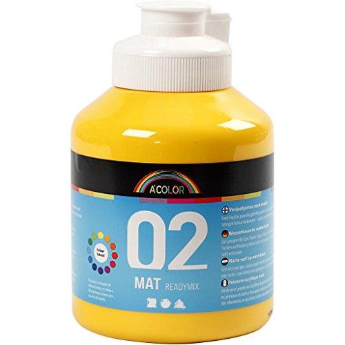 a-color-barattolo-di-tempera-matt-ready-mix-500-ml-giallo