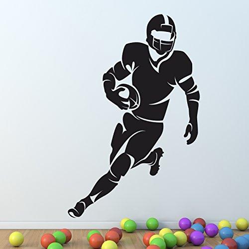 american-football-rugby-spieler-wand-aufkleber-vinyl-aufkleber-kunst-wand-grafik-dekor-beschriftung