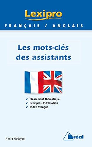 Lexipro anglais des assistants