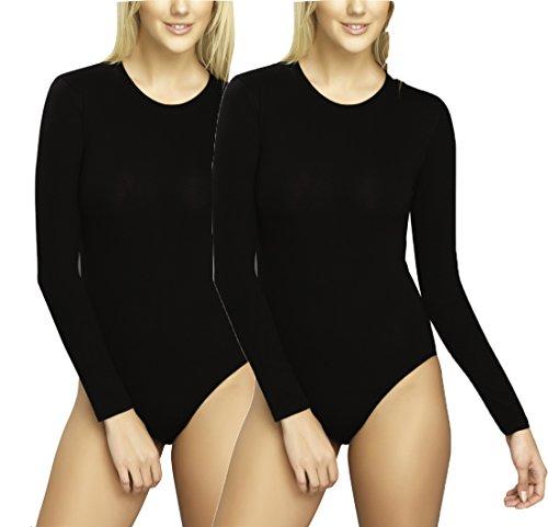 Cilek Women's Bodysuit - Black - X-Large