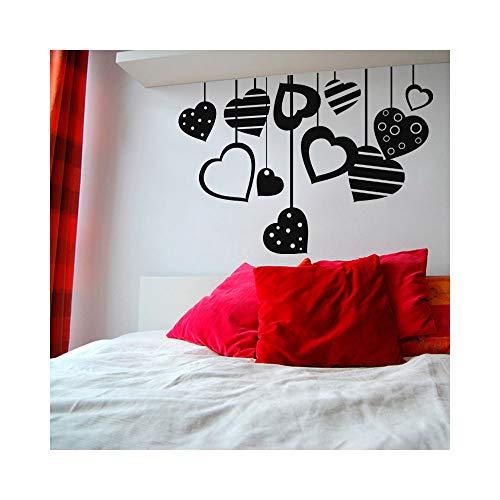 wandaufkleber kinder Liebes-Medaillon für Schlafzimmer