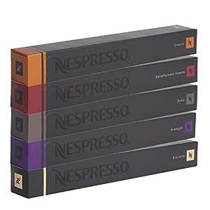 50 CAPSULES NESPRESSO - ASSORTIMENT EXPRESSO FORT - COLISSIMO