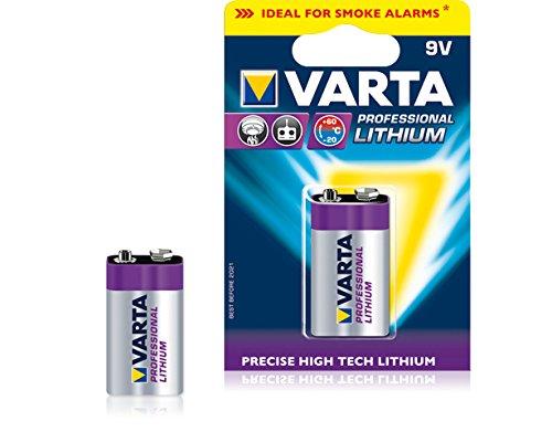 VARTA Pile bloc 9 V lithium \