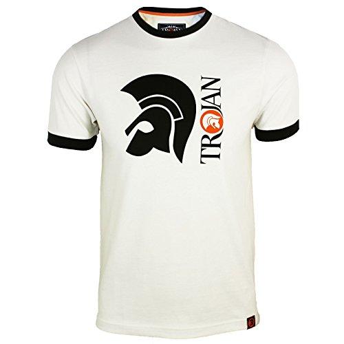 trojan-records-mens-ecru-helmet-logo-t-shirt-s