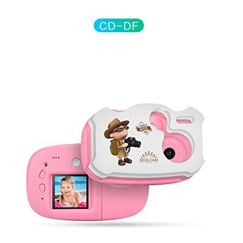 exing telecamera di fumetto per bambini giocattoli per fotocamere digitali giocattoli foto regali di compleanno di fotografia giocattolo di istruzione 12.5cm/4.92in Rosa